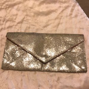 Adorable Silver Clutch